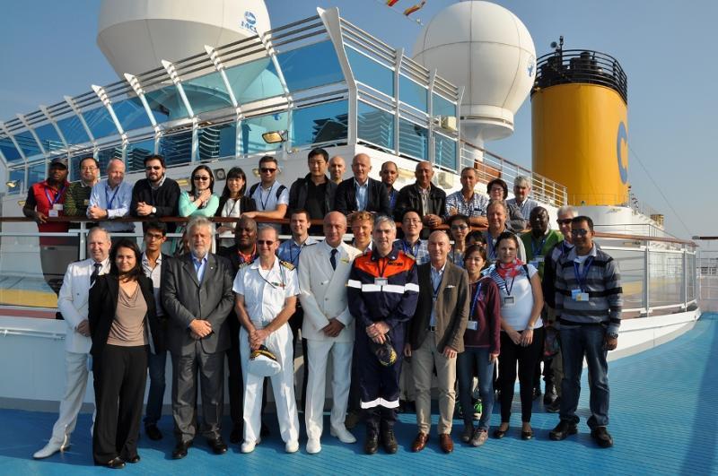 A bordo di Costa Luminosa funzionari dell'ILO-ilo_costaluminosa-1-jpg
