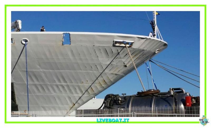 Vento e mare mosso fanno sbandare Costa neoRomantica-3costa-costaneoromantica-incidente-maltempo-liveboat-jpg