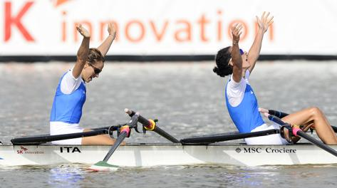 MSC sponsorizza le campionesse del mondo canottaggio-elisabetta-sancassani-jpg