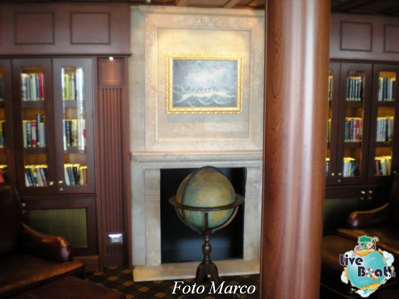 La biblioteca e l'internet point di Riviera-4foto-liveboat-riviera-oceania-jpg