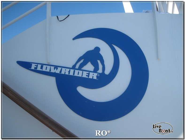 Flowrider, Climbing Wall e pista jogging di Independence ots-80foto-liveboat-independence-ots-jpg