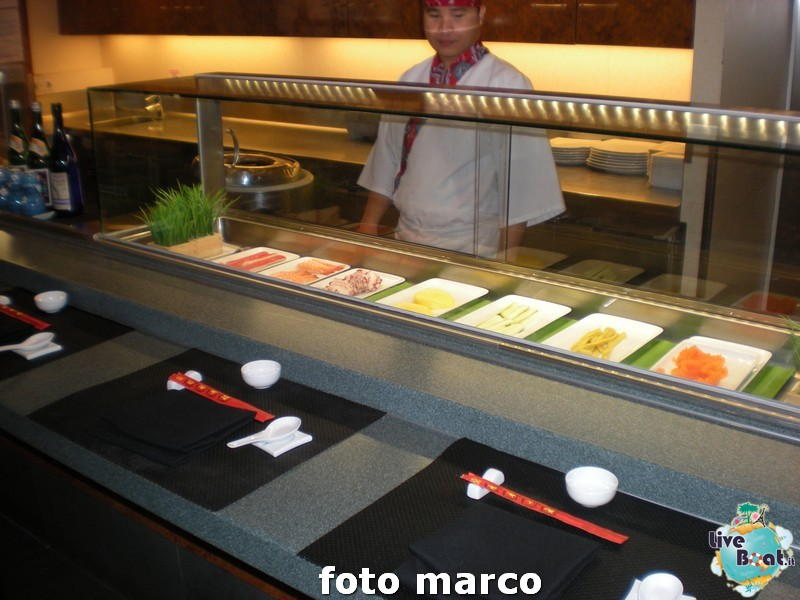 Shogun Asian Restaurant and Sushi Bar - Norwegian Spirit-110foto-liveboat-norwegian-spirit-jpg