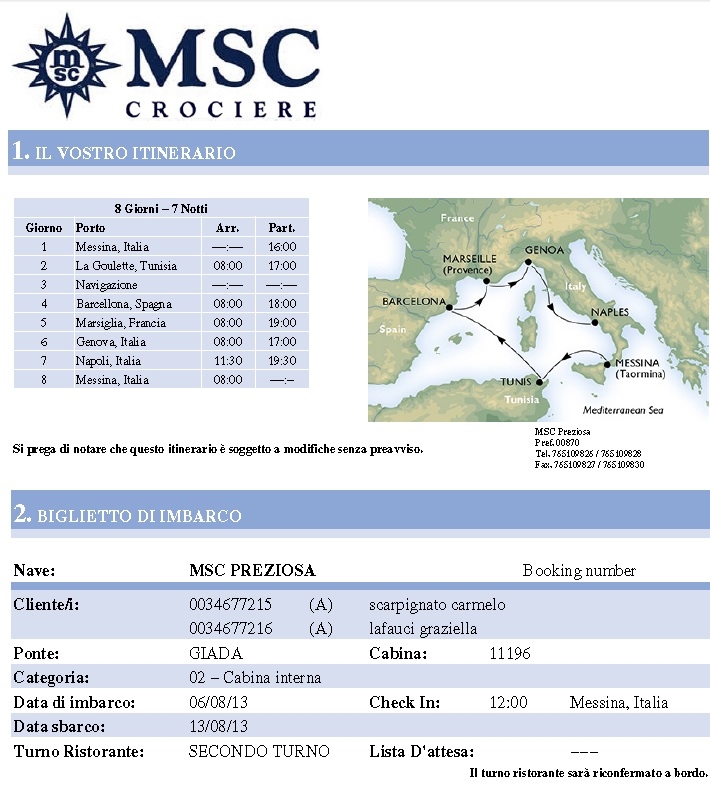 """SI PARTE """"MSC PREZIOSA"""" 06 AGOSTO 2013-cattura-1-png"""