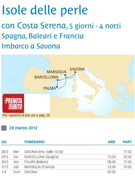 COSTA SERENA - Isole delle perle, 28/03/2012 - 01/04/2012-itinerario-jpg