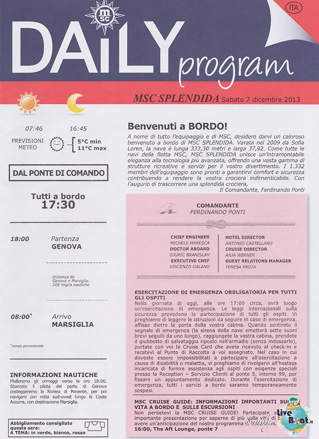 Msc SPLENDIDA - Med. Occidentale, 07/12/2013 - 14/12/2013-msc_splendida_daily_07-12-2013-01-jpg