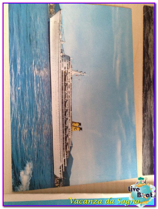 Cimeli cartacei Compagnie da Crociera Costa Crociere-2cimeli-crocieristici-franca-costa-eugenio-costa-riviera-jpg