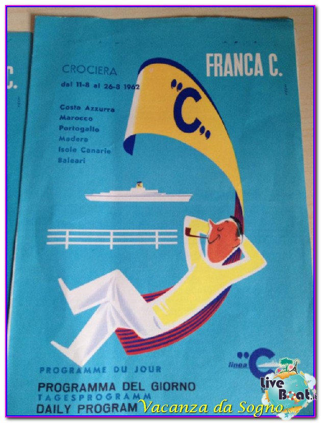Cimeli cartacei Compagnie da Crociera Costa Crociere-3cimeli-crocieristici-franca-costa-eugenio-costa-riviera-jpg