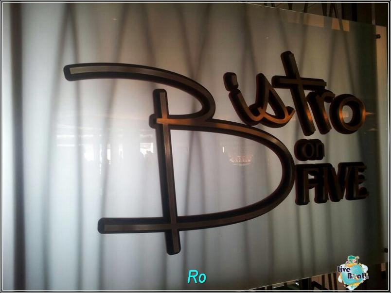 """Il ristorante """"Le Bistrot on five"""" di Celebrity Refleciton-foto-celebrityreflection-direttaliveboat-crociere-9-jpg"""