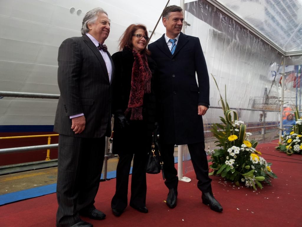 Joseph Farcus e la moglie con Michael Thamm