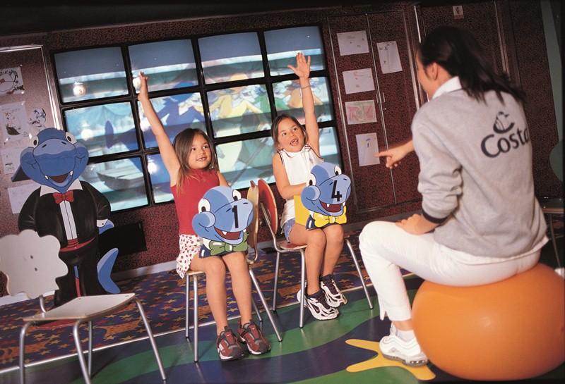 Nuovi giochi allo Squok Club per i piu' piccoli