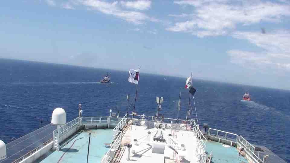 da bordo di Costa Concordia 2