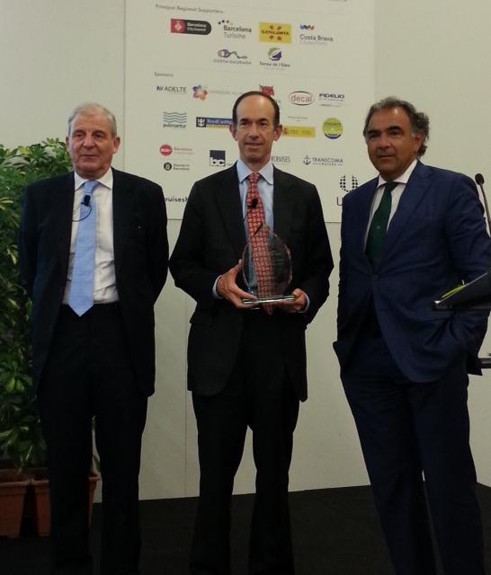 """""""Seatrade Mediterranean Personality of the year 2014"""" è stato consegnato ad Adam Goldstein"""
