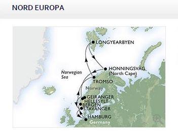 Crociera Fiordi Capo Nord e Svalbard