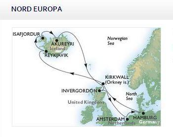 Crociera Inghilterra e Islanda
