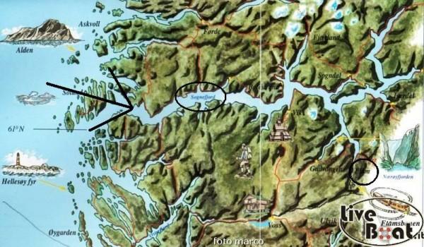 FLam navigazione nel fiordo