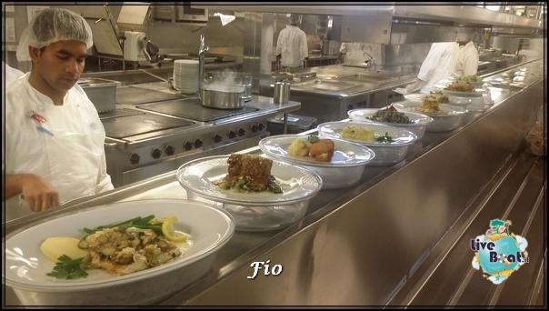 Cucina principale MSC Splendida