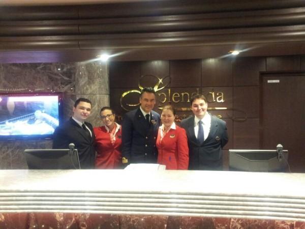 Guest service  MSC Splendida