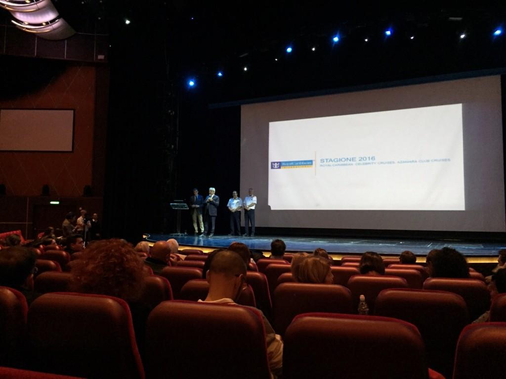 Conferenza Stampa Harmony of the seas a bordo di Allure (28)
