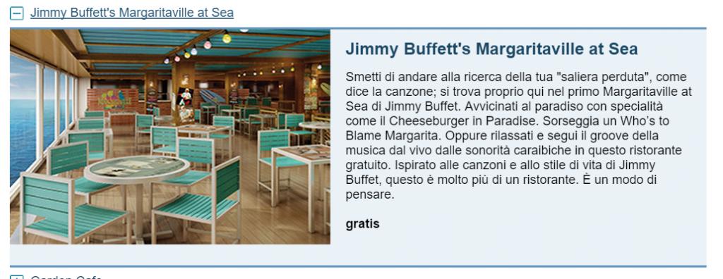 Jimmy Buffett's Margaritaville at Sea