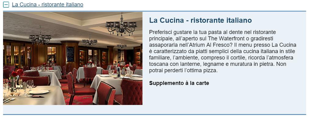 La Cucina - ristorante italiano