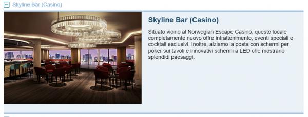 Skyline Bar (Casino) Escape
