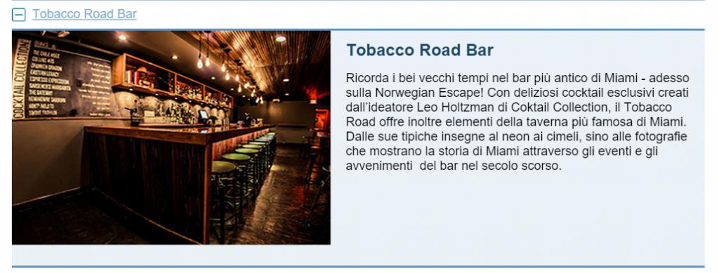 Tobacco Road Bar