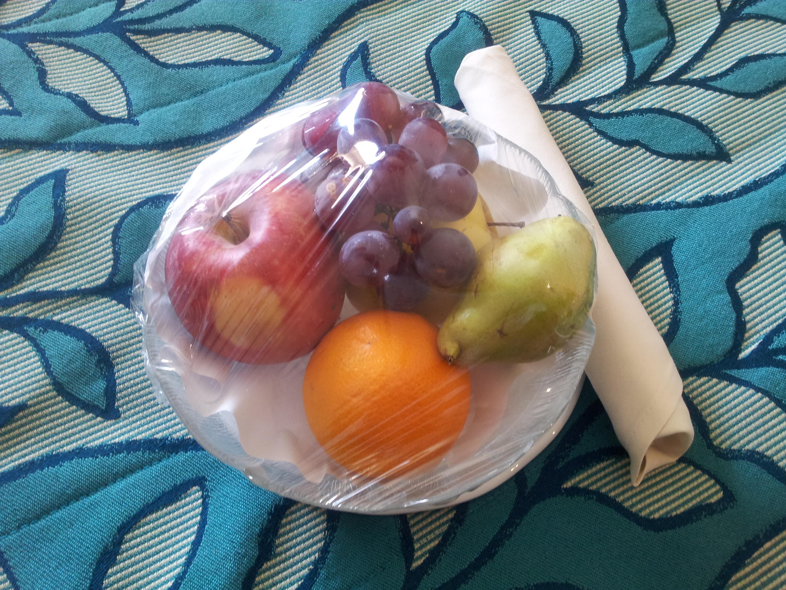 Cesto di frutta MSC Voyagers Club