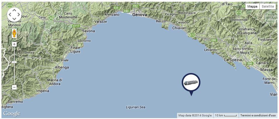 Liveboat in Diretta dall'Isola del Giglio e arrivo a Genova-posizione-costa-concordia-sera-giorno-jpg