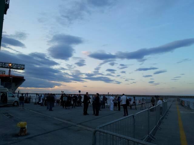 Liveboat in Diretta dall'Isola del Giglio e arrivo a Genova-uploadfromtaptalk1406435180048-jpg