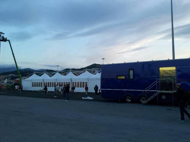 Liveboat in Diretta dall'Isola del Giglio e arrivo a Genova-uploadfromtaptalk1406435201917-jpg