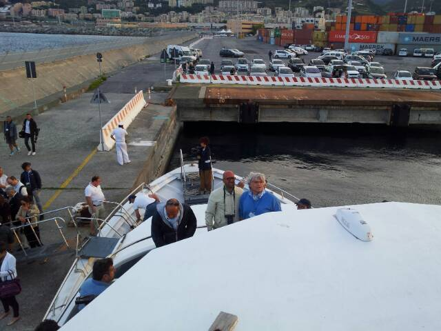 Liveboat in Diretta dall'Isola del Giglio e arrivo a Genova-uploadfromtaptalk1406436197212-jpg