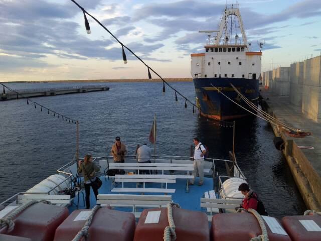 Liveboat in Diretta dall'Isola del Giglio e arrivo a Genova-uploadfromtaptalk1406436212290-jpg