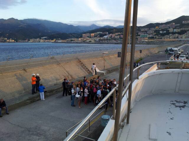 Liveboat in Diretta dall'Isola del Giglio e arrivo a Genova-uploadfromtaptalk1406436261363-jpg