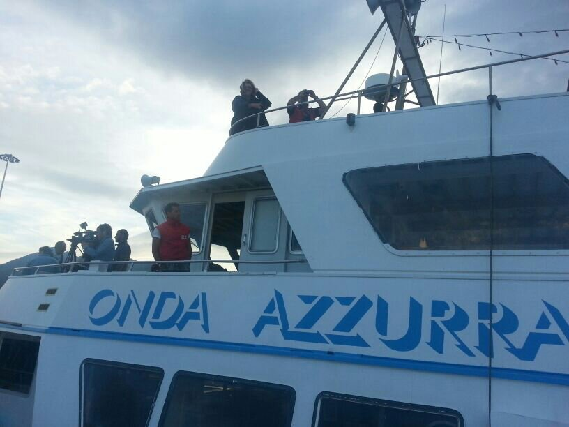 Liveboat in Diretta dall'Isola del Giglio e arrivo a Genova-uploadfromtaptalk1406436556568-jpg