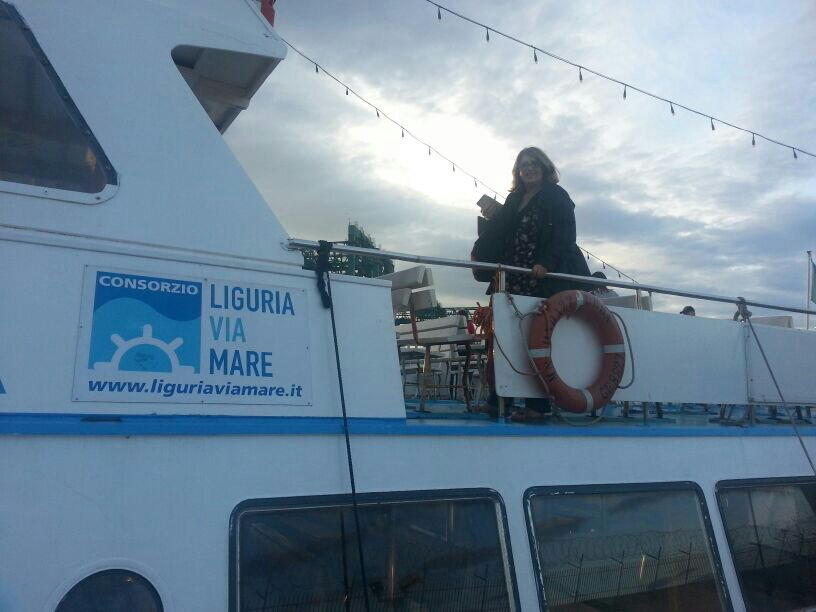 Liveboat in Diretta dall'Isola del Giglio e arrivo a Genova-uploadfromtaptalk1406436574768-jpg