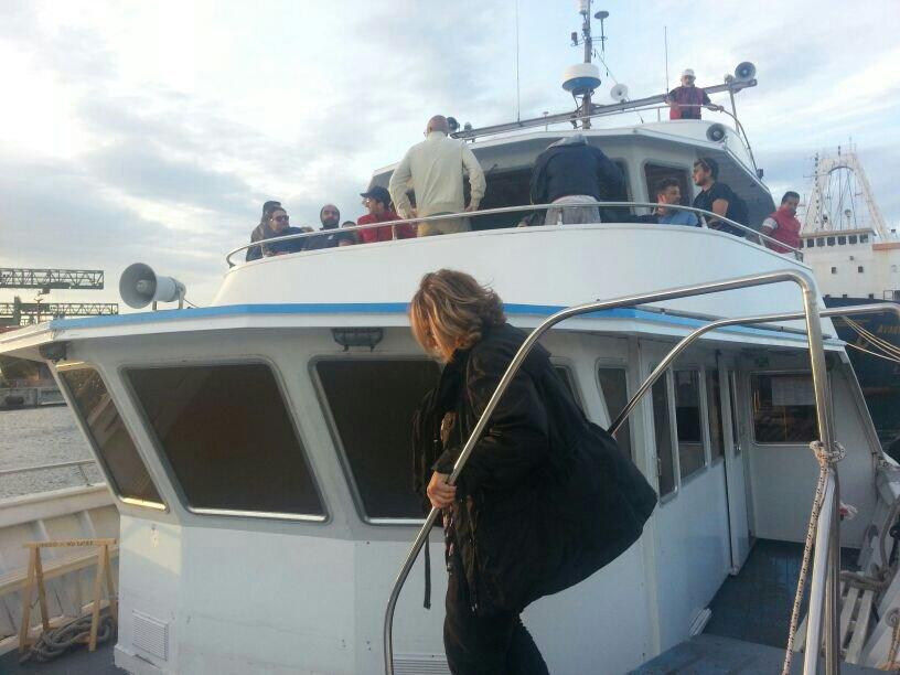 Liveboat in Diretta dall'Isola del Giglio e arrivo a Genova-uploadfromtaptalk1406436607856-jpg