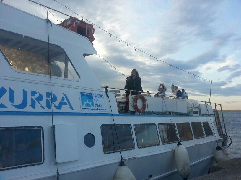 Liveboat in Diretta dall'Isola del Giglio e arrivo a Genova-uploadfromtaptalk1406436639561-jpg