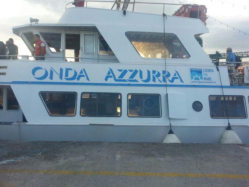 Liveboat in Diretta dall'Isola del Giglio e arrivo a Genova-uploadfromtaptalk1406436664416-jpg