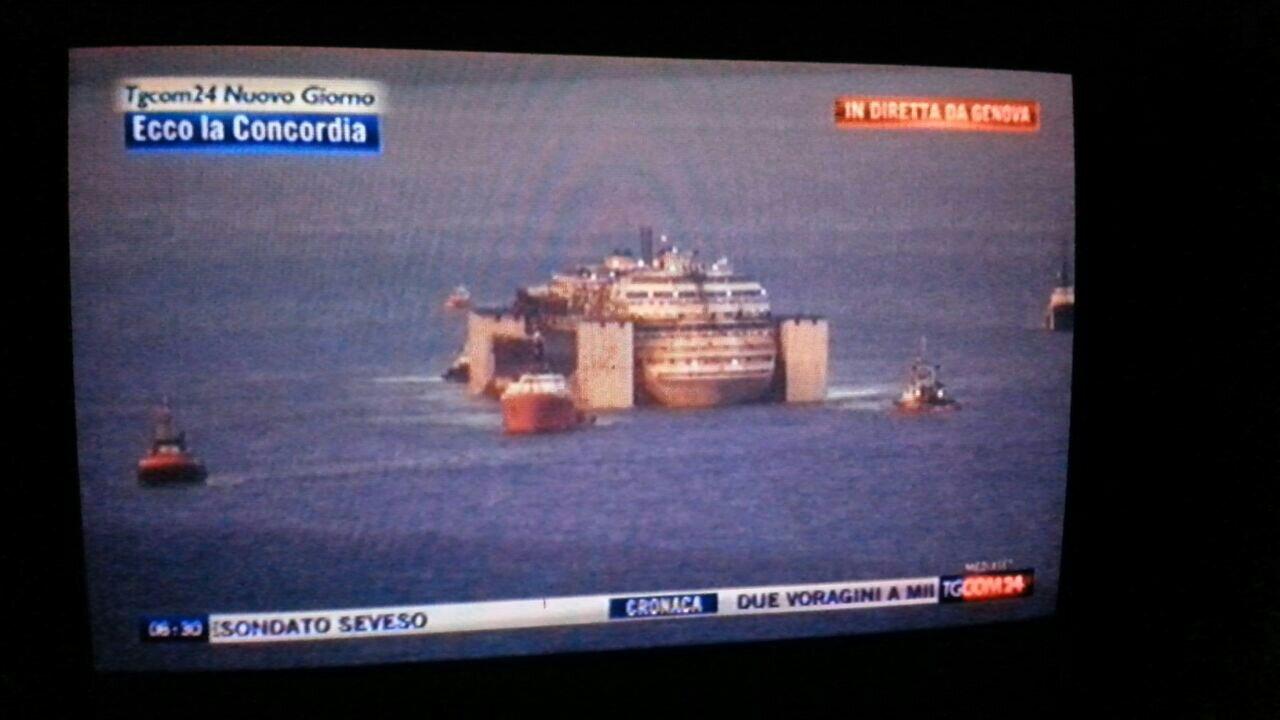 Liveboat in Diretta dall'Isola del Giglio e arrivo a Genova-uploadfromtaptalk1406436793022-jpg