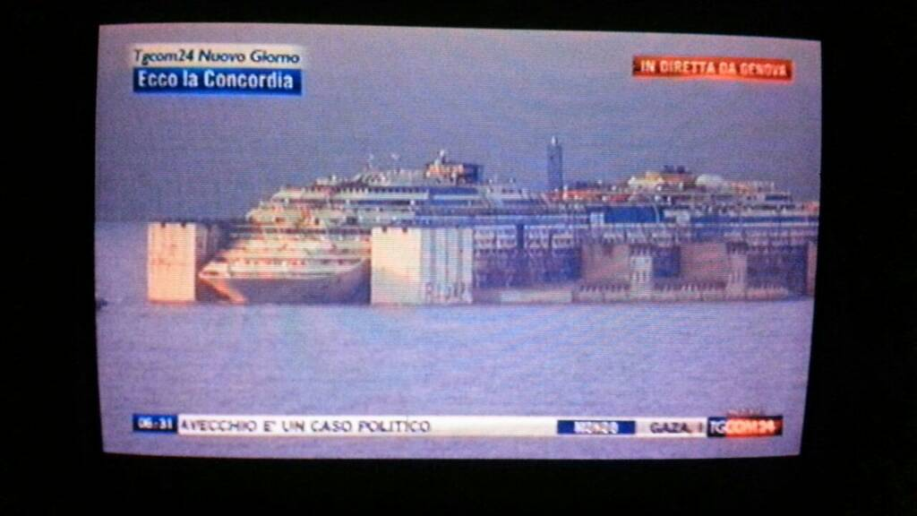 Liveboat in Diretta dall'Isola del Giglio e arrivo a Genova-uploadfromtaptalk1406436813132-jpg