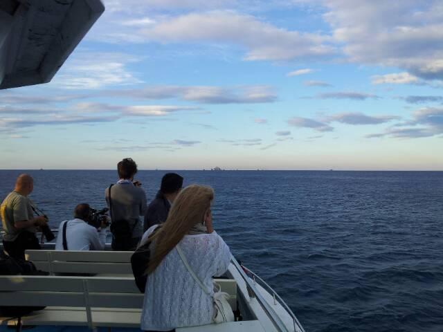 Liveboat in Diretta dall'Isola del Giglio e arrivo a Genova-uploadfromtaptalk1406437602209-jpg
