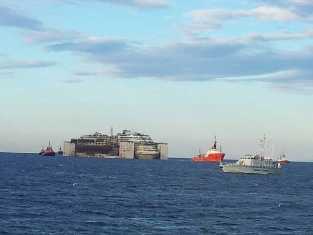 Liveboat in Diretta dall'Isola del Giglio e arrivo a Genova-uploadfromtaptalk1406438199192-jpg