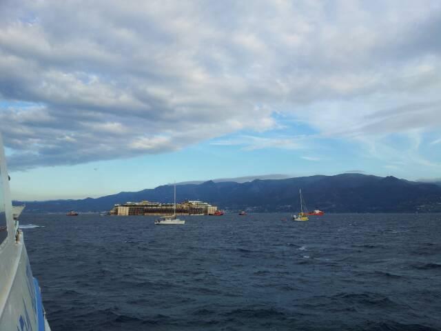 Liveboat in Diretta dall'Isola del Giglio e arrivo a Genova-uploadfromtaptalk1406438534845-jpg