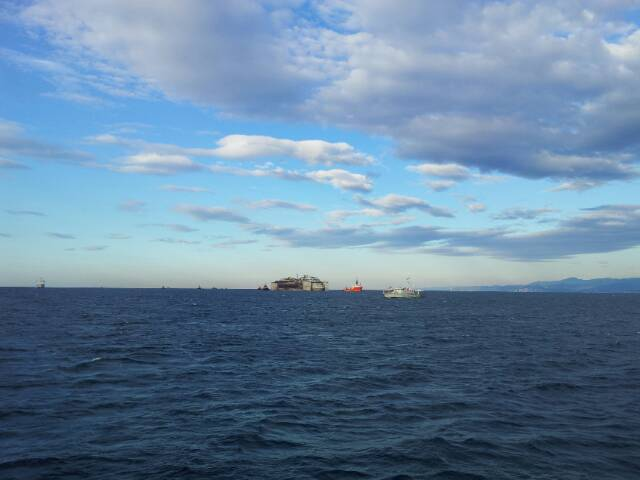 Liveboat in Diretta dall'Isola del Giglio e arrivo a Genova-uploadfromtaptalk1406438566555-jpg