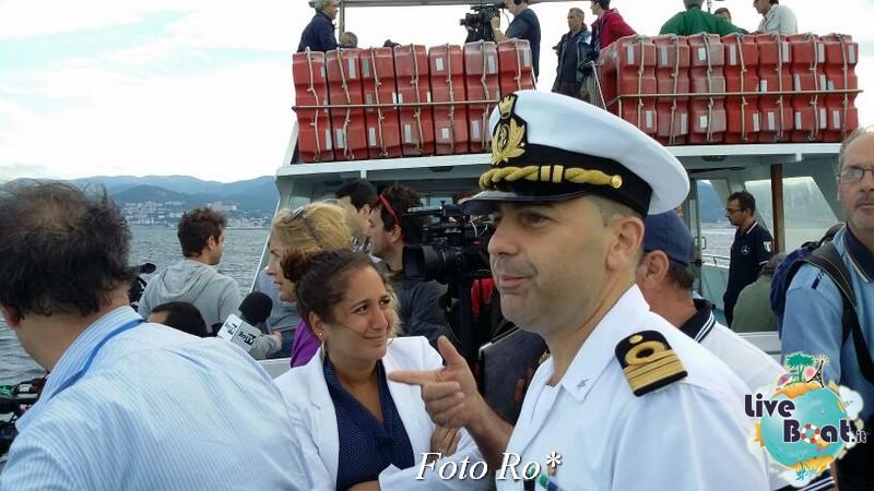 Liveboat in Diretta dall'Isola del Giglio e arrivo a Genova-2foto-conferenza-stampa-costa-crociere-genova-voltri-porto-jpg