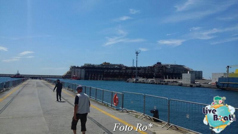 Liveboat in Diretta dall'Isola del Giglio e arrivo a Genova-24foto-costaconcordia-genova-arrivo-jpg