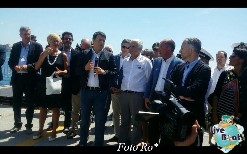 Liveboat in Diretta dall'Isola del Giglio e arrivo a Genova-4foto-costaconcordia-genova-arrivo-jpg