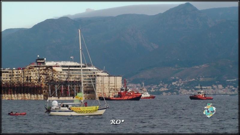 Liveboat in Diretta dall'Isola del Giglio e arrivo a Genova-42foto-costaconcordia-genova-arrivo-jpg