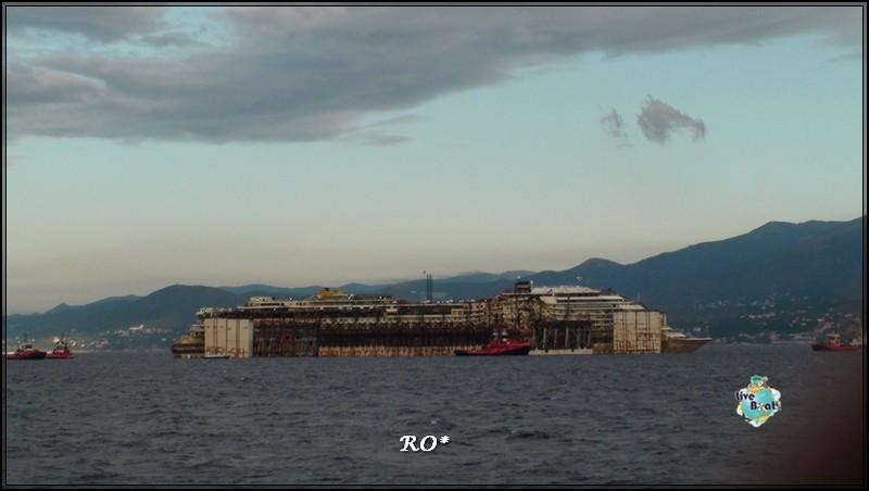 Liveboat in Diretta dall'Isola del Giglio e arrivo a Genova-47foto-costaconcordia-genova-arrivo-jpg