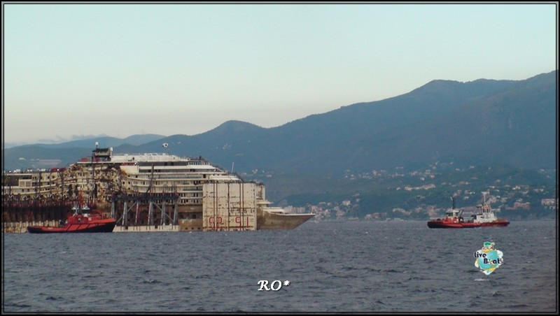 Liveboat in Diretta dall'Isola del Giglio e arrivo a Genova-50foto-costaconcordia-genova-arrivo-jpg